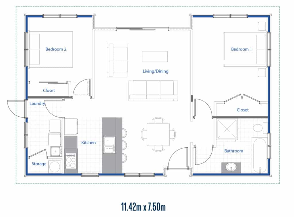 Suffolk Floor Plan